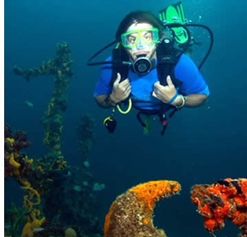 In Bocas del Toro, Panama you can learn Spanish and scuba dive everday